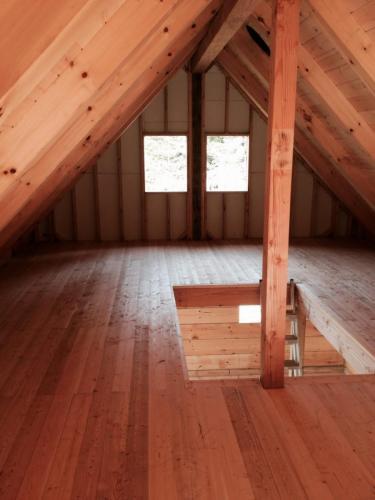 intérieur piece sur piece plancher BC fir